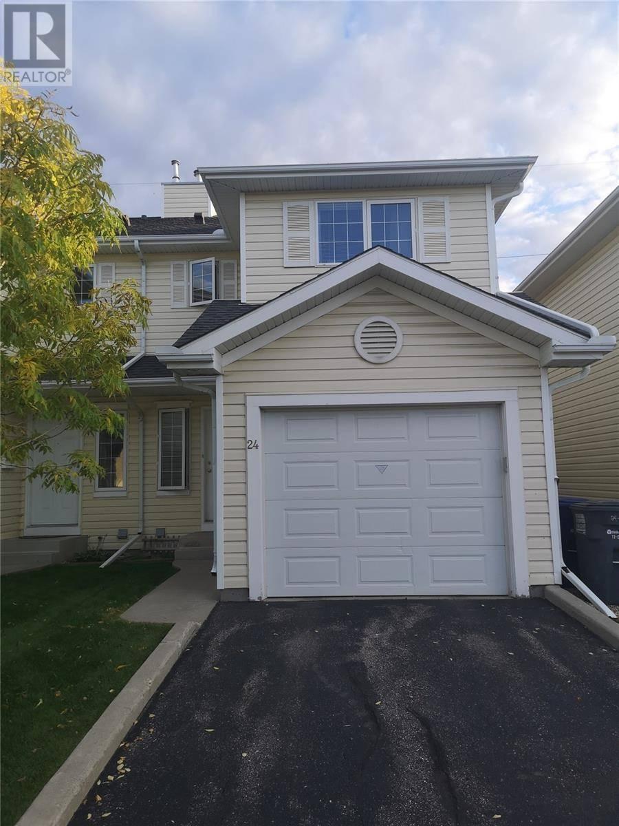 Townhouse for sale at 111 Fairbrother Cres Unit 24 Saskatoon Saskatchewan - MLS: SK787314