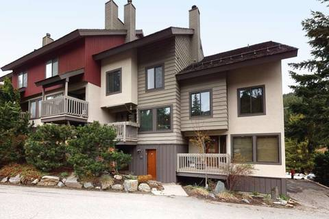 Townhouse for sale at 1200 Alta Lake Rd Unit 24 Whistler British Columbia - MLS: R2454223