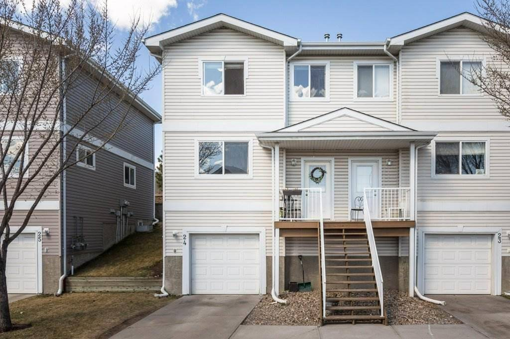 Townhouse for sale at 130 Hyndman Cres Nw Unit 24 Edmonton Alberta - MLS: E4195590