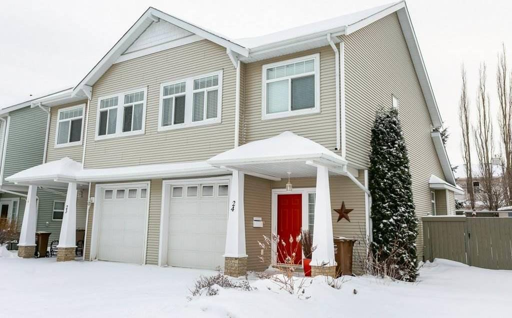 Townhouse for sale at 200 Erin Ridge Dr Unit 24 St. Albert Alberta - MLS: E4184401