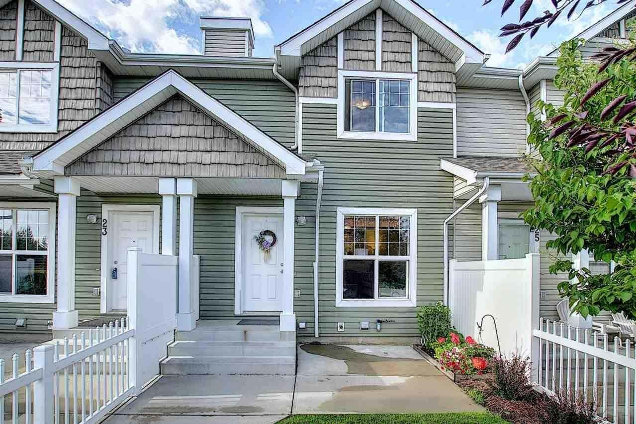 Townhouse for sale at 2051 Towne Centre Bv NW Unit 24 Edmonton Alberta - MLS: E4207554