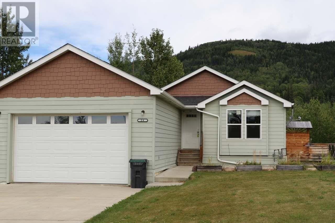 House for sale at 24 Kinuseo Pl Tumbler Ridge British Columbia - MLS: 185087