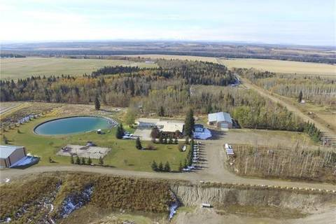 House for sale at 33 Ne 24-33-5-w5  Ne Unit 24 Rural Mountain View County Alberta - MLS: C4281187