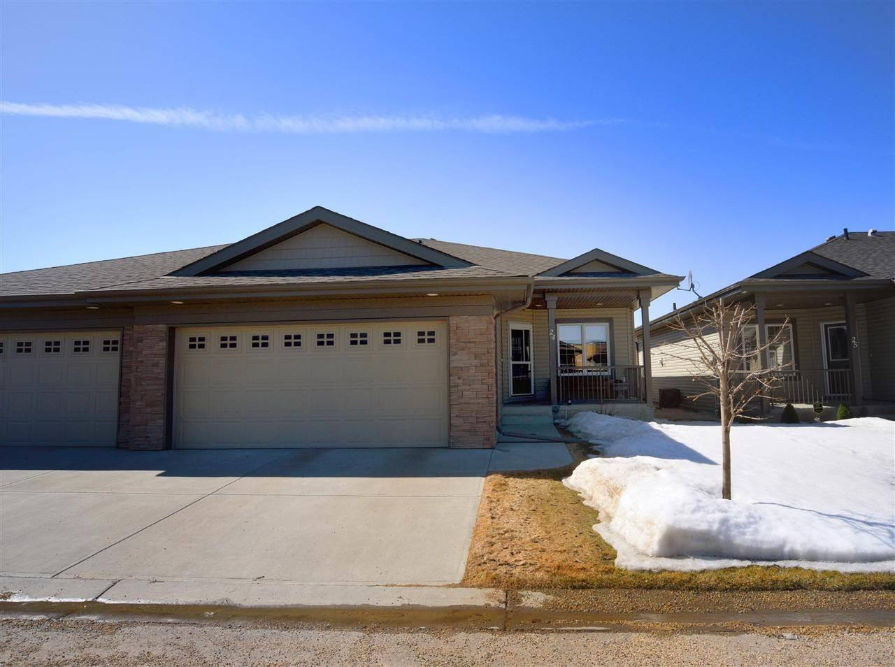 Townhouse for sale at 340 Spruce Ridge Rd Unit 24 Spruce Grove Alberta - MLS: E4194246