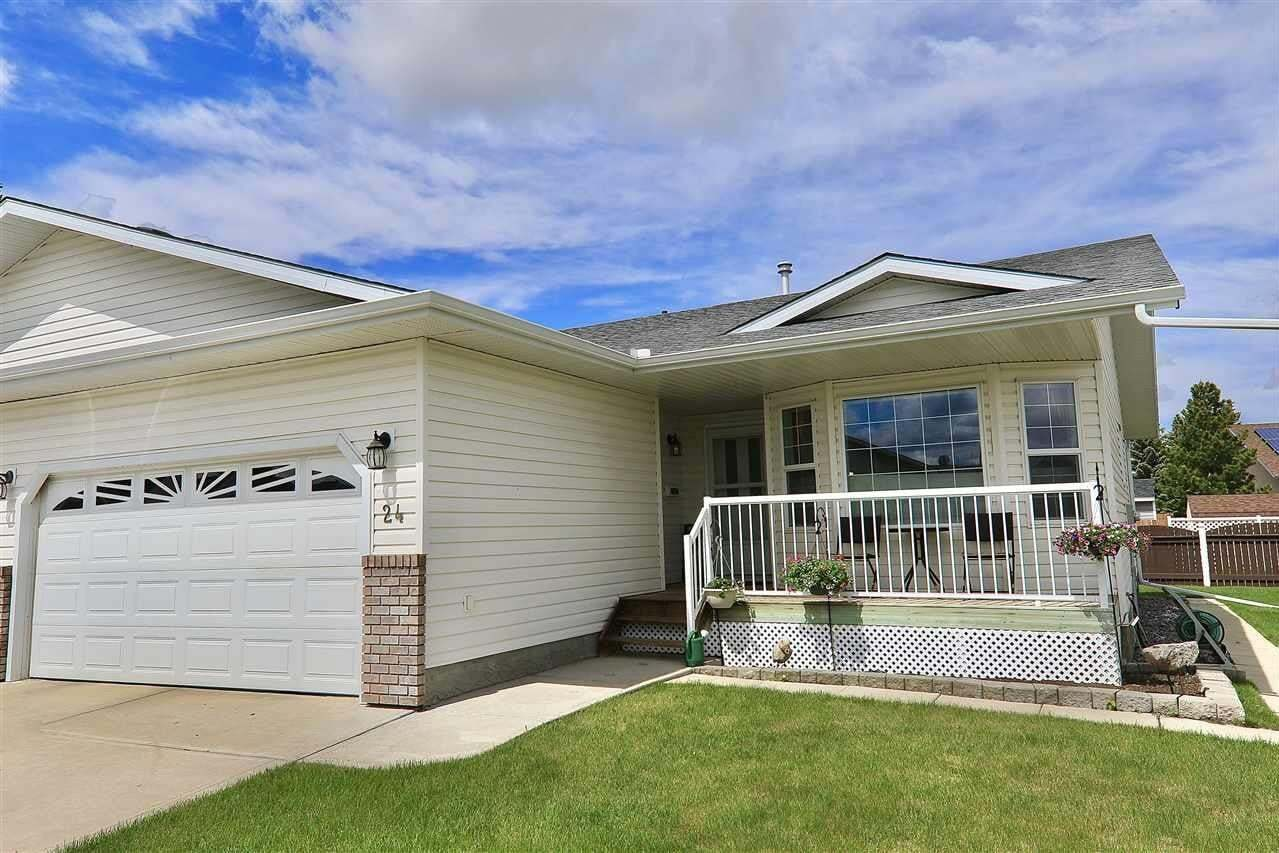 Townhouse for sale at 4410 52 Av Unit 24 Wetaskiwin Alberta - MLS: E4199079