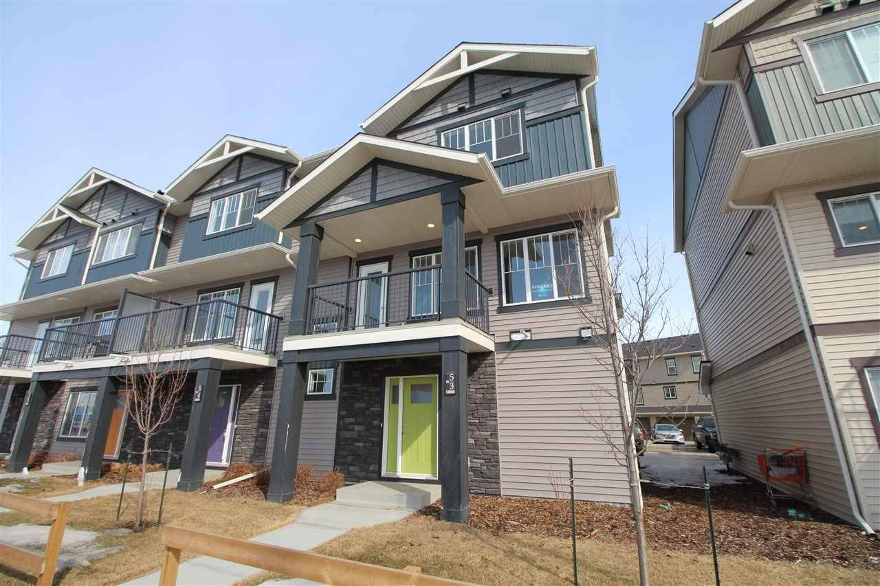 Townhouse for sale at 50 Mclaughlin Dr Unit 24 Spruce Grove Alberta - MLS: E4192592
