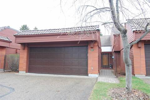 Townhouse for sale at 500 Lessard Dr Nw Unit 24 Edmonton Alberta - MLS: E4155694