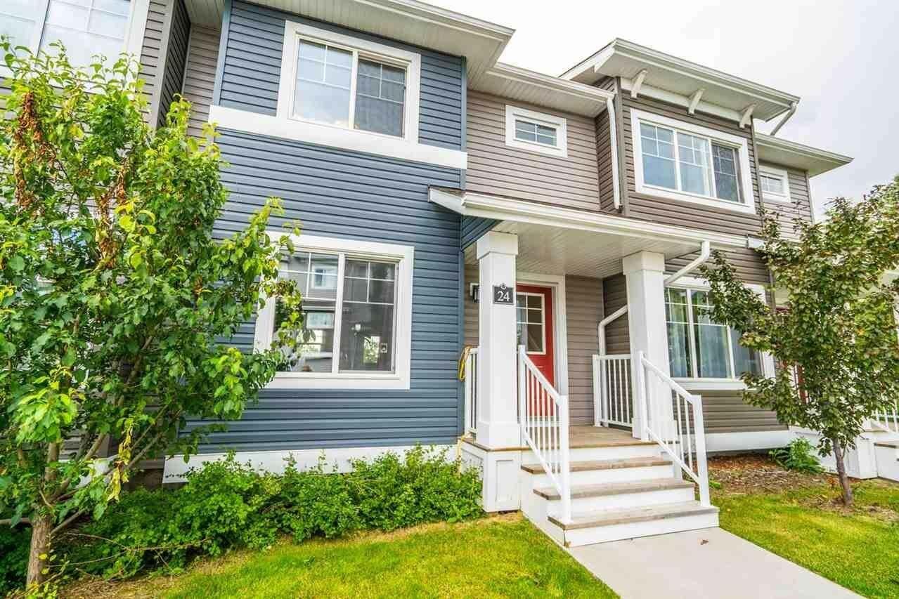 Townhouse for sale at 5203 149 Av NW Unit 24 Edmonton Alberta - MLS: E4206158