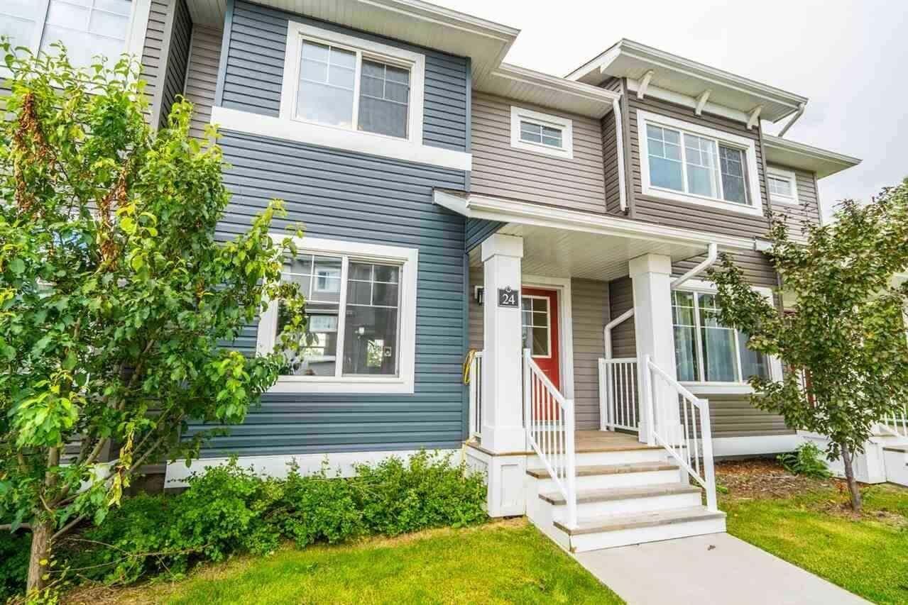 Townhouse for sale at 5203 149 Av NW Unit 24 Edmonton Alberta - MLS: E4214130