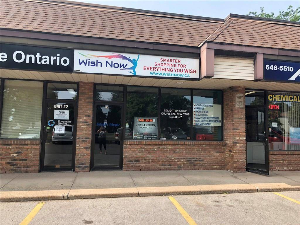 Commercial property for lease at 595 Carlton St Apartment 24 St. Catharines Ontario - MLS: H4050760