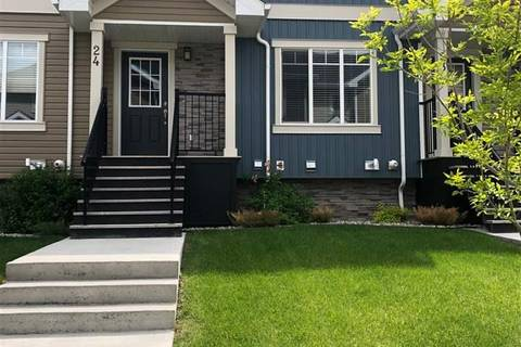 Townhouse for sale at 9535 217 St Nw Unit 24 Edmonton Alberta - MLS: E4164215
