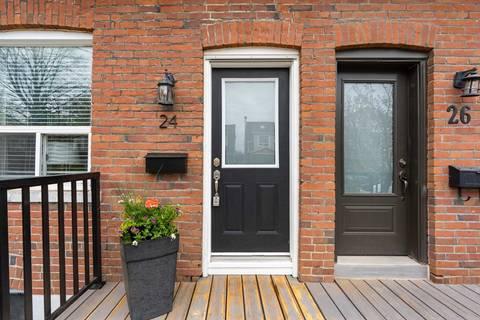 Townhouse for sale at 24 Ashland Ave Toronto Ontario - MLS: E4455753