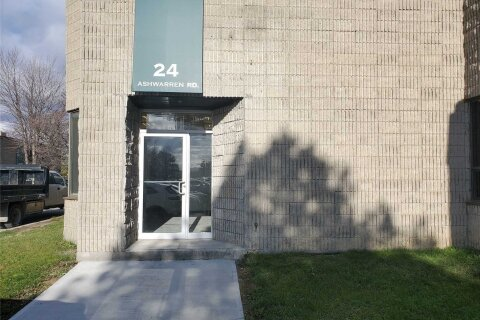 Commercial property for lease at 24 Ashwarren Rd Toronto Ontario - MLS: W4992524