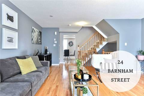 Townhouse for sale at 24 Barnham St Ajax Ontario - MLS: E4537949