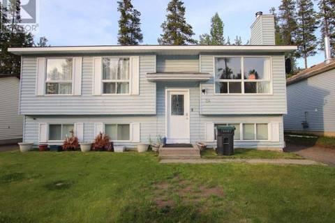 House for sale at 24 Bullmoose Pl Tumbler Ridge British Columbia - MLS: 177165