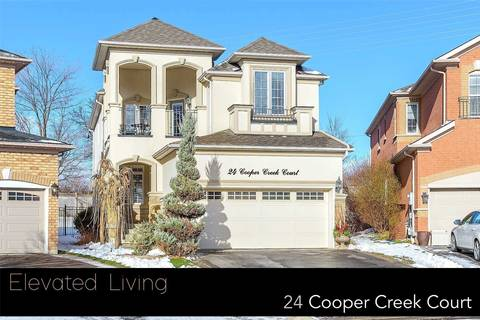 House for sale at 24 Cooper Creek Ct Vaughan Ontario - MLS: N4390678