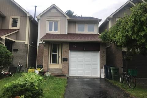House for sale at 24 Croach Cres Toronto Ontario - MLS: E4486124