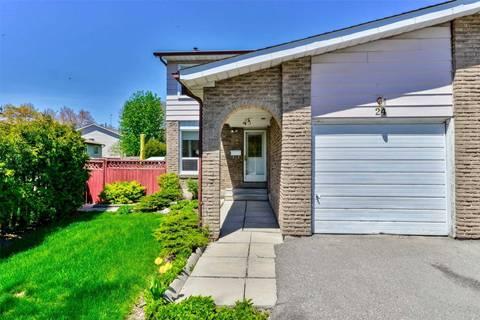 Townhouse for sale at 24 Cupola Ct Brampton Ontario - MLS: W4453930