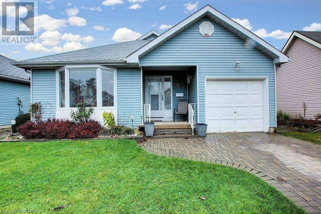 House for sale at 24 Edwin Cres Tillsonburg Ontario - MLS: 230854