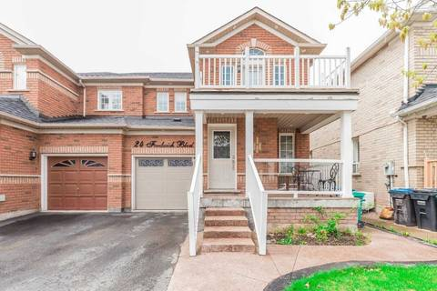 Townhouse for sale at 24 Fordwich Blvd Brampton Ontario - MLS: W4474984