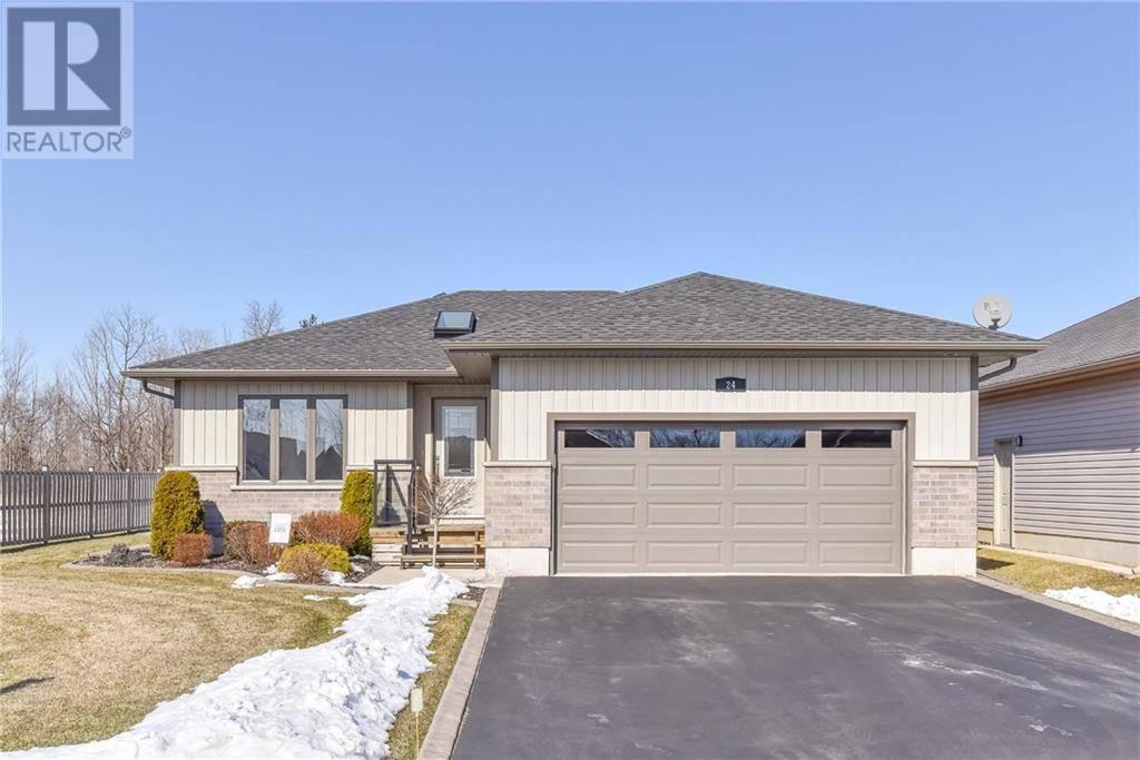 House for sale at 24 Greeneagle Dr Tillsonburg Ontario - MLS: 30791943