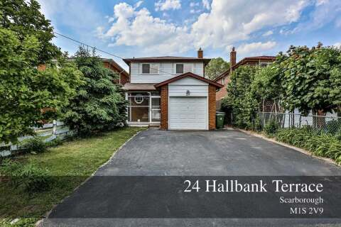 House for sale at 24 Hallbank Terr Toronto Ontario - MLS: E4783706