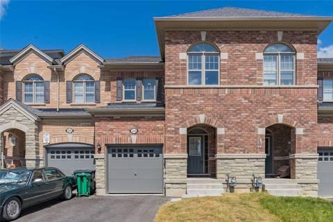 Townhouse for sale at 24 Hogan Manor Dr Brampton Ontario - MLS: W4520007
