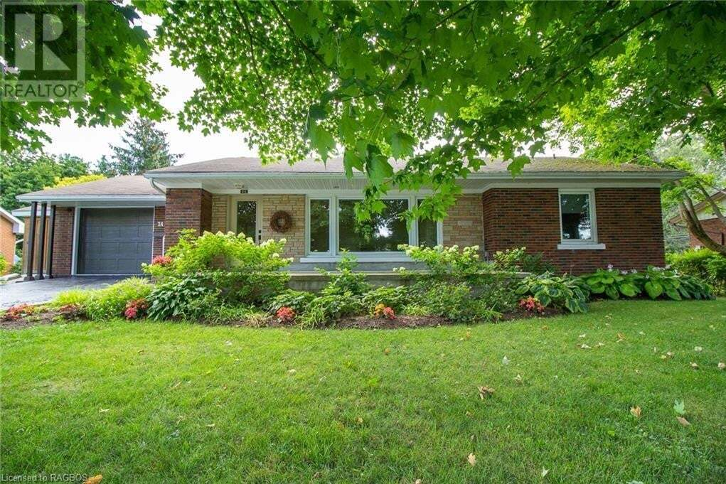 House for sale at 24 Mullen Dr Walkerton Ontario - MLS: 263449