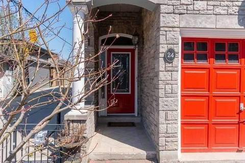 Townhouse for rent at 24 Nancy Pocock Pl Toronto Ontario - MLS: C4465611