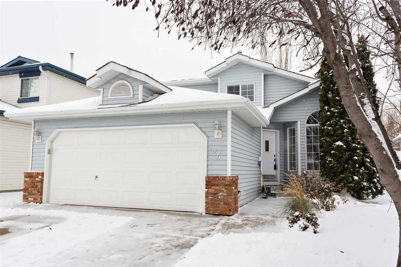 House for sale at 24 Oakview Cr St. Albert Alberta - MLS: E4219200