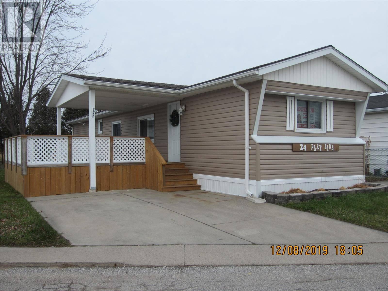 House for sale at 24 Parkside  Mcgregor Ontario - MLS: 19029210
