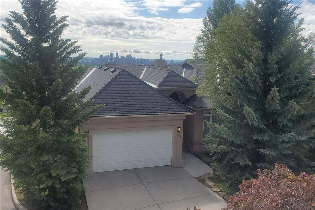 Townhouse for sale at 24 Patina Tc SW Patterson, Calgary Alberta - MLS: C4296969