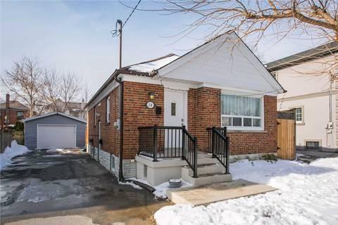 House for rent at 24 Penhurst Ave Toronto Ontario - MLS: W4642637
