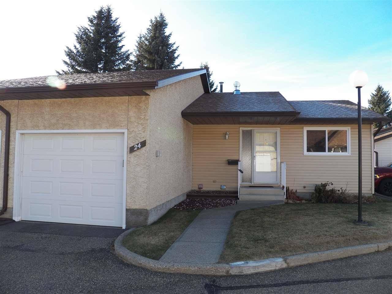 Townhouse for sale at 24 Pineview Horizon  St. Albert Alberta - MLS: E4178742