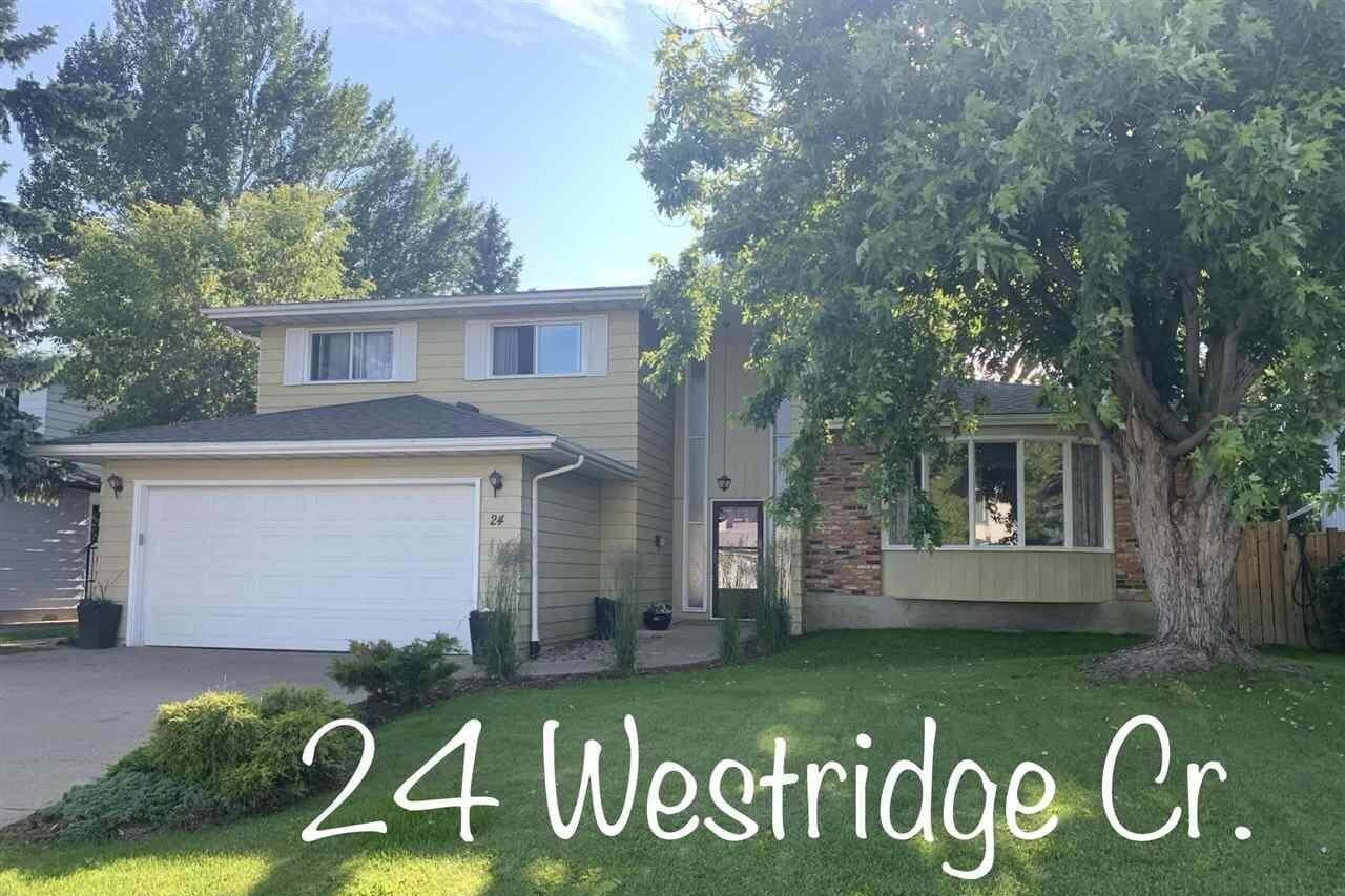 House for sale at 24 Westridge Cr NW Edmonton Alberta - MLS: E4199716
