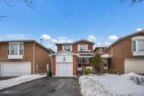 House for sale at 240 Alexmuir Blvd Toronto Ontario - MLS: E4698086
