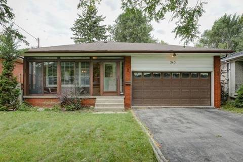 House for sale at 240 Dunview Ave Toronto Ontario - MLS: C4623331