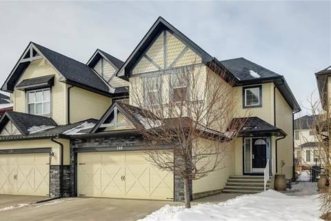 Townhouse for sale at 240 Silverado Range Ht Southwest Calgary Alberta - MLS: C4290190