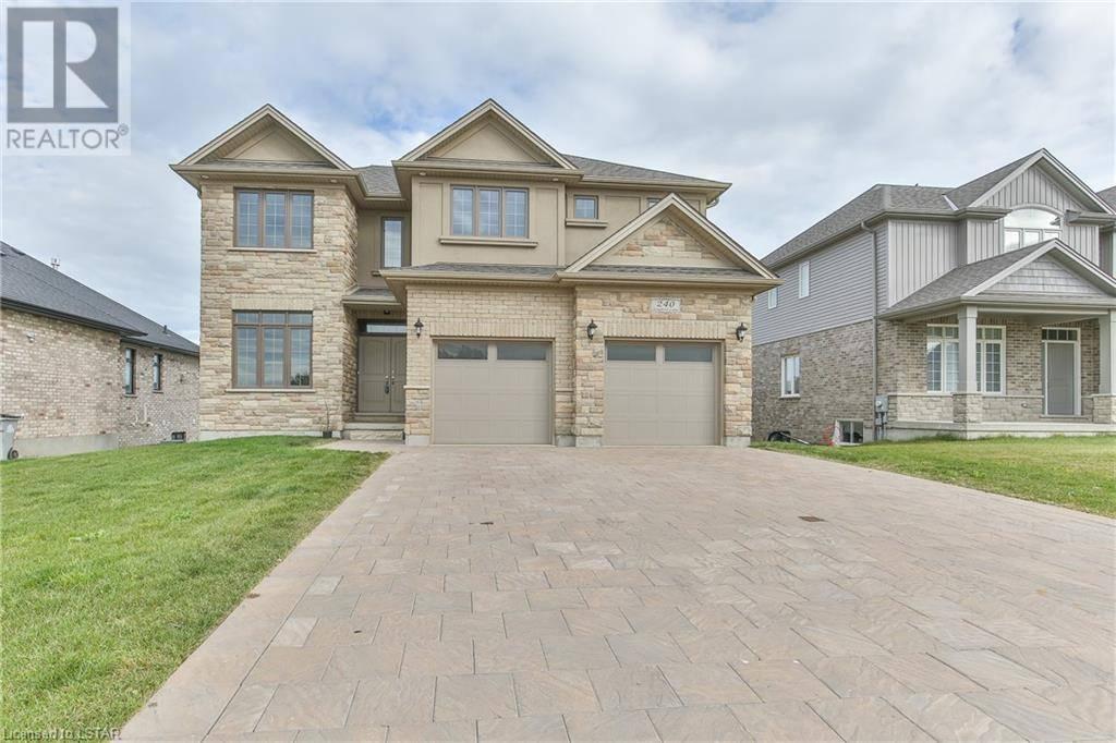 House for sale at 240 Songbird Ln Ilderton Ontario - MLS: 224817