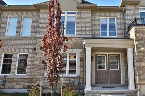 Townhouse for sale at 2406 Baronwood Dr Oakville Ontario - MLS: W4621907