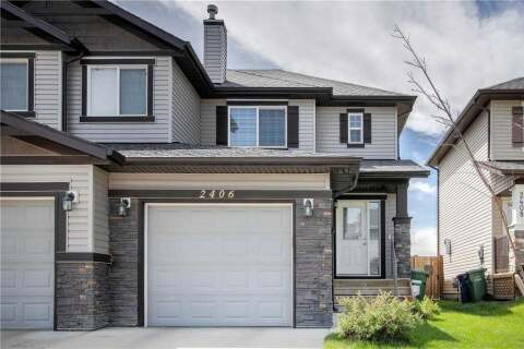Townhouse for sale at 2406 Baywater Cres Southwest Airdrie Alberta - MLS: C4302733