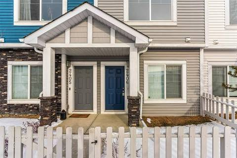 Townhouse for sale at 2406 Jumping Pound Common  Cochrane Alberta - MLS: C4285253
