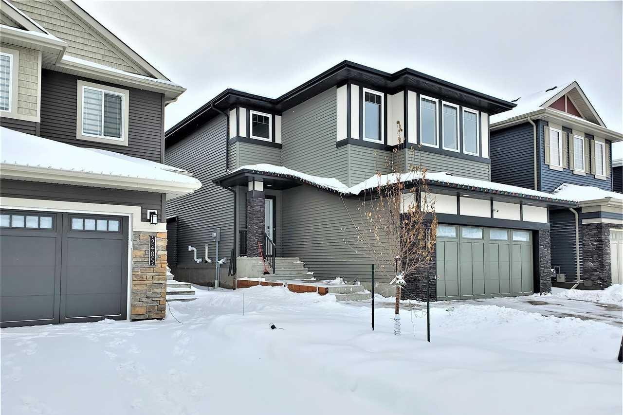 House for sale at 2407 Wonnacott Ct SW Edmonton Alberta - MLS: E4221405