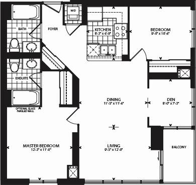 Apartment for rent at 18 Harbour St Unit 2408 Toronto Ontario - MLS: C4519156