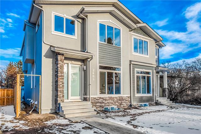 Sold: 2408 22 Street Northwest, Calgary, AB