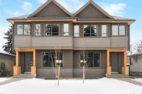 Townhouse for sale at 2409 1 Ave Northwest Calgary Alberta - MLS: C4278298