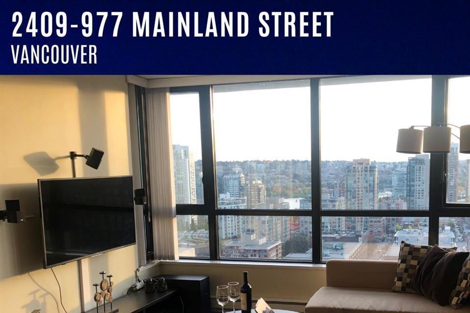 Apartment for rent at 977 Mainland St Unit 2409 Vancouver British Columbia - MLS: R2526994