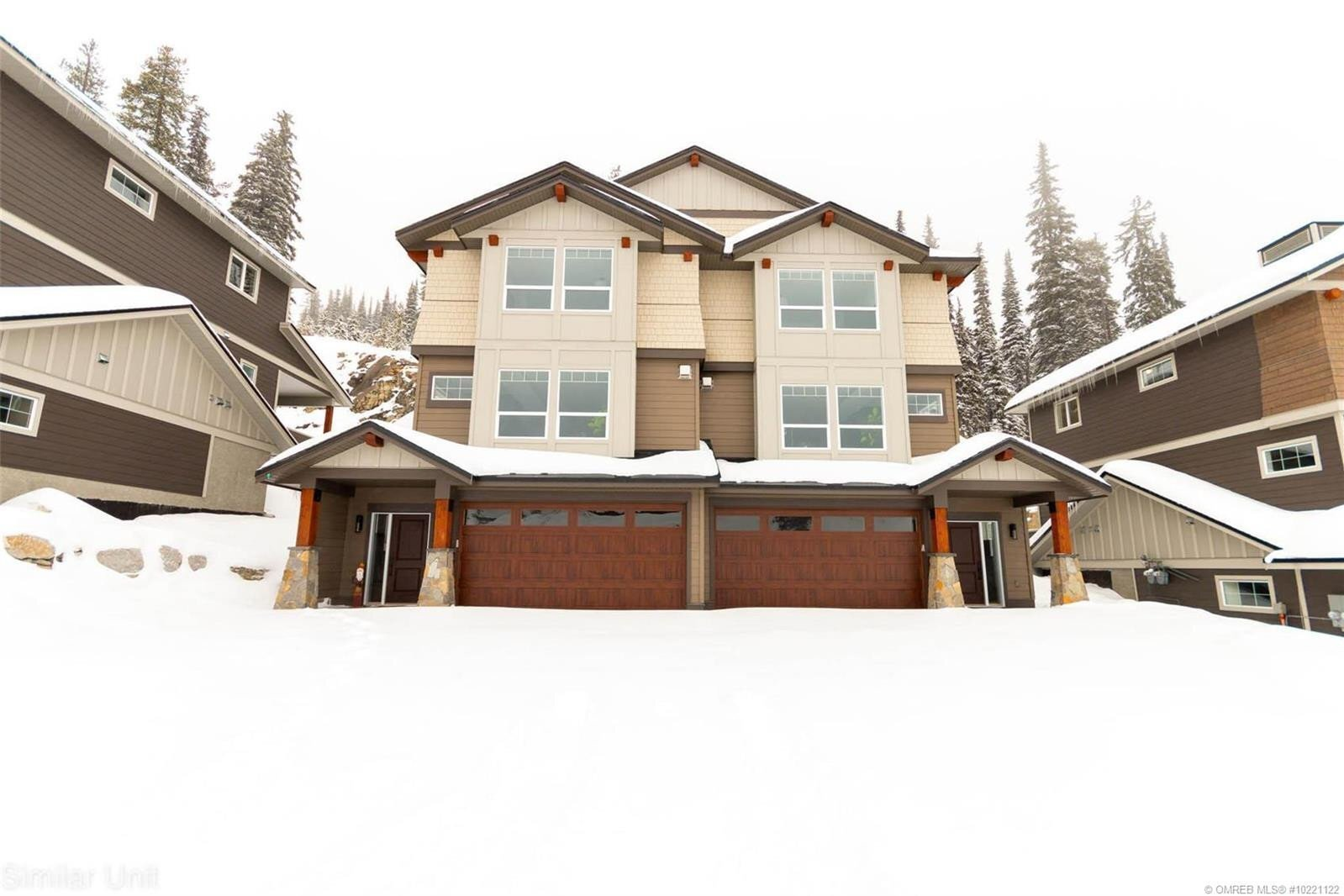 Townhouse for sale at 240 Grizzly Ridge Tr Big White British Columbia - MLS: 10221122