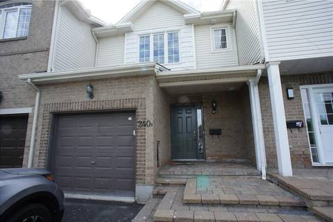 Townhouse for rent at 240 Claridge Dr Ottawa Ontario - MLS: 1161722
