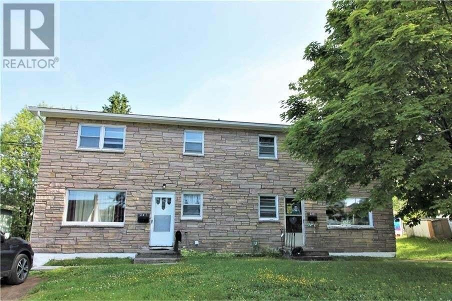 Townhouse for sale at 243 Molson Ave Unit 241 Saint John New Brunswick - MLS: NB045065